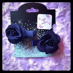 Accessories - Girls/woman's rose hair clips